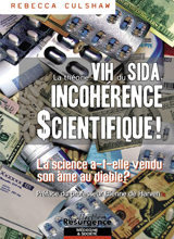 Théorie VIH du SIDA, INCOHERENCE SCIENTIFIQUE !